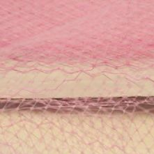 Candy Pink Hat Veiling